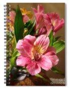 Flowers In Bloom Spiral Notebook