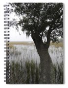 Fog On The Water Spiral Notebook