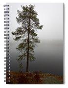 Foggy Lake Spiral Notebook