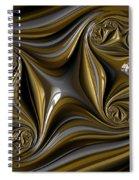 Folds Spiral Notebook