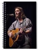 Folk Singer Griffen House Spiral Notebook