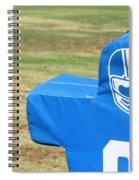 Football Dummy Spiral Notebook