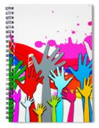1 For All - All For 1 Spiral Notebook