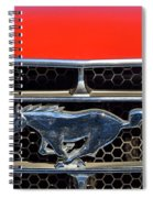 Ford Mustang Badge Spiral Notebook