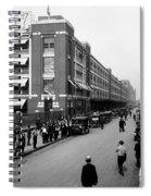 Ford Work Shift Change - Detroit 1916 Spiral Notebook