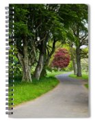Forest Track Spiral Notebook