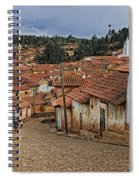 forgotten village Totora Spiral Notebook