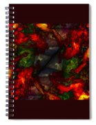 Formless And Void Spiral Notebook