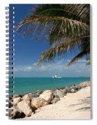 Fort Zachary Taylor Beach Spiral Notebook