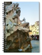 Fountain Of The Four Rivers Spiral Notebook