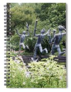 Four Muses Spiral Notebook