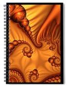 Fractal Triptychon Spiral Notebook