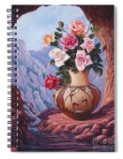 Fragrance And Dew Spiral Notebook