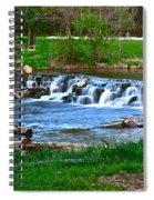 Framed Falls Spiral Notebook