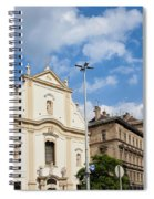 Franciscan Church Of Pest In Budapest Spiral Notebook