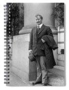 Frederick Albert Cook Spiral Notebook