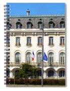 French Embassy In Vienna Spiral Notebook