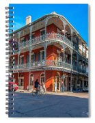 French Quarter Afternoon Spiral Notebook