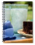 Fresh Cold Milk Spiral Notebook
