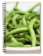 Fresh Green Beans Spiral Notebook
