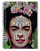 Frida Kahlo Art - Define Beauty Spiral Notebook