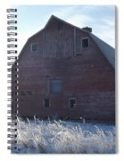 Frosty Barn Spiral Notebook