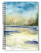 Frozen Creek Spiral Notebook