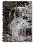 Frozen V Spiral Notebook