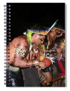 Fulnio Indians Of Brazil  Spiral Notebook