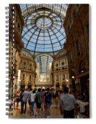 Galleria Vittorio Emanuele. Milano Milan Spiral Notebook