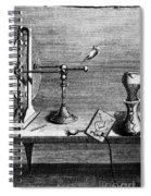 Galvani: Galvanism Spiral Notebook