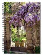 Garden Gate Spiral Notebook