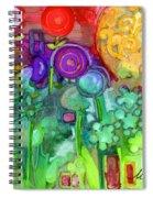 Garden Sunset Spiral Notebook