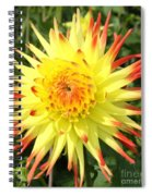 Garden Sunshine Spiral Notebook