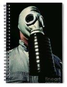 Gas And Darkness Spiral Notebook