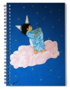 Gathering Starlight Spiral Notebook