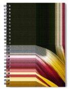 Gazania Named Big Kiss White Flame Spiral Notebook