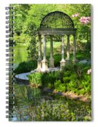 Gazebo By Lake Spiral Notebook