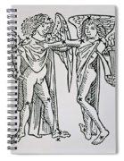 Gemini An Illustration Spiral Notebook