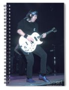 Musician George Thorogood Spiral Notebook
