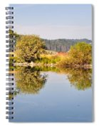 George Town Lake Reflections Spiral Notebook