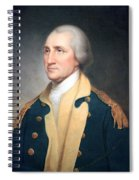 George Washington By Rembrandt Peale Spiral Notebook
