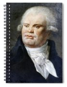 Georges-jacques Danton (1759-1794) Spiral Notebook