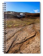 Geothermal Field Spiral Notebook