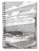 Lighthouse Gig Harbor Entrance Spiral Notebook
