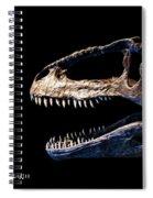 Giganotosaurus Skull 3 Spiral Notebook
