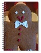 Ginger-bokeh Spiral Notebook