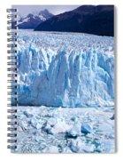 Glacier, Moreno Glacier, Argentine Spiral Notebook