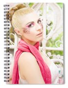 Glamour Spiral Notebook