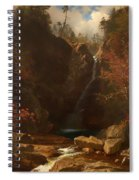 Glen Ellis Falls Spiral Notebook